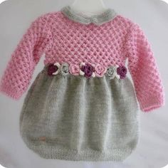visual result related to handmade children's clothes – Kids Fashion Baby Knitting Patterns, Knitting For Kids, Crochet For Kids, Knitting Designs, Knitting Ideas, Fashion Kids, Baby Sweaters, Little Girl Dresses, Baby Dresses