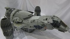 Seven-foot long minifig-scale Serenity model is a Lego masterpiece!