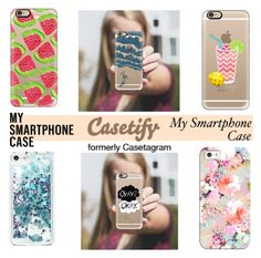 """""""Casetify"""" by fashiondiary5 ❤ liked on Polyvore featuring Casetify"""