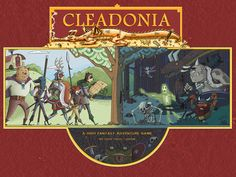Cleadonia is a table top role playing game set in the high fantasy world full of fantastic races and exploration.
