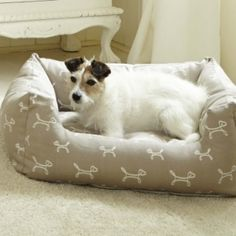 Dog Beds, Luxury Dog Beds, Donyt Dog Beds, Wooden Dogs Beds from The Stylish Dog Company