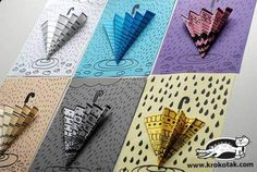 children activities, more than 2000 coloring pages Try to visualize this on a card! Also if you love ZENTANGLE then this is a great way to Paper Crafts for Kids to Inspire the crafty mind and creative child in your home - Hike n Dip Would yo Craft Projects For Kids, Activities For Kids, Spring Activities, Origami, Paper Collage Art, Rainy Day Crafts, Deco Originale, Ecole Art, Unicorn Crafts