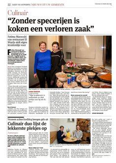 Heerlijk Antwerpen in de Gazet van Antwerpen van 24 februari 2017
