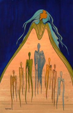 Earth Spirits - Contemporary Canadian Native, Inuit & Aboriginal Art - Bearclaw Gallery
