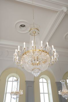 Chandeliers ... need I say more to make your Wedding magical?