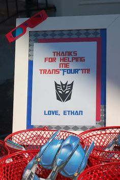 & for helping me trans& 4 Twin Birthday, Fourth Birthday, 4th Birthday Parties, Birthday Fun, Birthday Ideas, Rescue Bots Birthday, Transformers Birthday Parties, Transformer Birthday, Turning