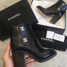 Those Chanel boots are so amazing I want a pair of the luxury ones. - Chanel Boots - Trending Chanel Boots for sales. - Those Chanel boots are so amazing I want a pair of the luxury ones. High Heels Boots, Heeled Boots, Bootie Boots, Shoe Boots, Shoes Heels, Pumps, Gucci Shoes, Shoes Valentino, Balenciaga Shoes