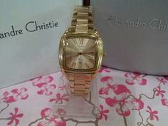 JAM TANGAN ALEXANDRE CHRISTIE WOMEN 2454 LH ROSE GOLD ORIGINAL #jamtangan #alexandrechristie #original
