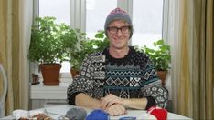 Designers, textile artists and authors, known for their craft books and their original and visually striking designs. Arne And Carlos, Midsomer Murders, Knitting Books, Textile Artists, Knit Fashion, Book Crafts, Pullover, Cross Stitch Embroidery, Knitted Hats