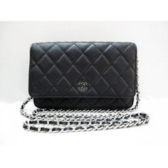 Chanel Wallet On Chain Caviar Leather Black