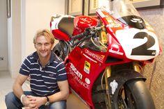 The Legend Carl George Fogarty Ducati 916, Ducati Superbike, Motorcycle Racers, Racing Motorcycles, Motos Sexy, Biker Photography, Duke Bike, Motosport, Ducati Monster