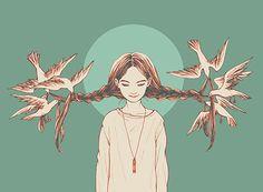 Cynthia Tedy #illustration                                                                                                                                                                                 Más
