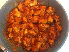 Λαχταριστό Κοτόπουλο με μπαλσάμικο και ντομάτα Shrimp, Curry, Easy Meals, Meat, Chicken, Ethnic Recipes, Beautiful, Food, Curries