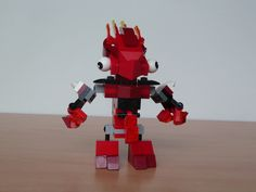 LEGO MIXELS FLAIN VULK MIX instructions video with Lego 41500 and Lego 41501 Mixels Serie 1
