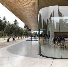 Apple Campus 2, Apple Launch, Interior Design Studio, Commercial Design, Store Design, My House, Architecture Design, Norman Foster, Glass Walls