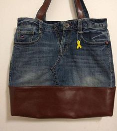Denim Detail mixed bag