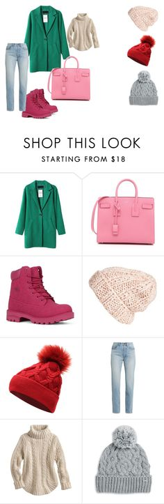 """задачка зима"" by lerka-panterka on Polyvore featuring мода, Yves Saint Laurent, Lugz, Free People и Rella"