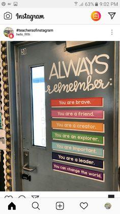 Important students classroom door Classroom Bulletin Boards, Classroom Door, Classroom Design, Future Classroom, School Classroom, Classroom Organization, Classroom Management, Classroom Ideas, Classroom Displays