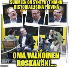 This man Jari Tervo call other Finnish idiots LOL