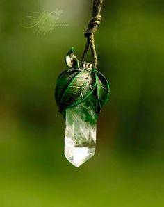 Green: Elven crystal.