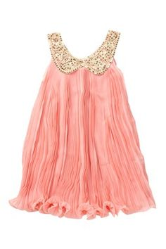 Chiffon Collar Dress