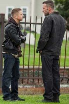 Jeremy Renner and Ben Affleck, The Town (2010).