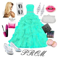 """""""Prom"""" by sarahbear27 ❤ liked on Polyvore featuring Monsoon, Carolee, Chiara Ferragni, Christian Dior, Jimmy Choo, Urban Decay, Revlon, jane, Prom and DateNight"""