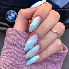 Gorgeous Nails, Love Nails, Fun Nails, Perfect Nails, Cute Acrylic Nail Designs, Best Acrylic Nails, Best Nail Polish, No Chip Nails, Almond Nails Designs