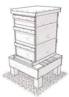 38 Free DIY Bee Hive Plans & Ideas That Will Inspire You To Become A Beekeeper #beekeeper #raisingbees