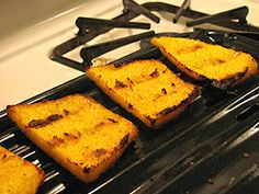 Polenta Crusts--for Pizza and More