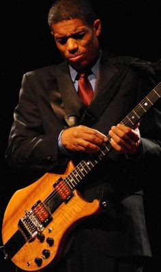 """Stanley Jordan - a master, also teaches through his seminars """"Keys to Optimal Learning for Musicians""""."""