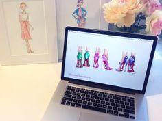 Click to Download Festive December Desktop Wallpaper {love these!}