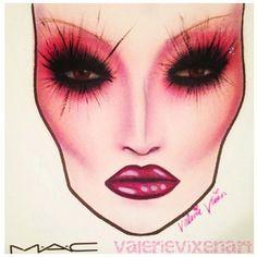 MAC face chart cunty