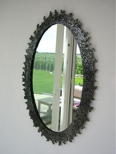 bike chain mirror...holy shit. This is awesome