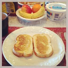 Rise and shine! And eat! #frenchtoast