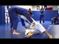 Knee on belly escape: Stiff arm to ankle pick sweep Aikido, Judo, Jiu Jitsu Techniques, Marshal Arts, Exercises, Workouts, Warrior Within, Ju Jitsu, Brazilian Jiu Jitsu
