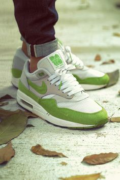 size 40 cc23b 759ce sweetsoles  Patta x Nike Air Max 1 - Spring Green (by msgt16) Turnschuhe