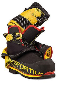 La Sportiva Men's Olympus Mons Evo Mountaineering Boot - these babies take up a lot of my head space