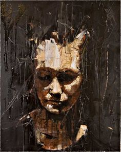 'ALL THE NEW PUNKS I'(FRAMED NUMBER 1 OF EDITION) by Guy Denning