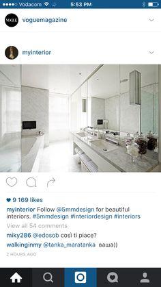 White modern sleek