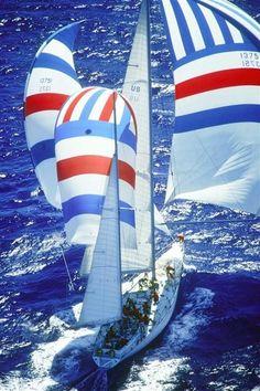 Full sail ahead!