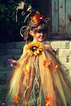 Cutest DIY Scarecrow Baby Costume