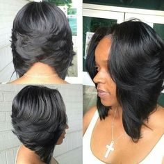 Looking for the best way to bob hairstyles 2019 to get new bob look hair ? It's a great idea to have bob hairstyle for women and girls who have hairstyle way. You can get adorable and stunning look with… Continue Reading → My Hairstyle, Curly Bob Hairstyles, Curly Hair Styles, Natural Hair Styles, Black Hairstyles, Quick Weave Hairstyles Bobs, Weave Bob Hairstyles, Long Haircuts, Girl Hairstyles