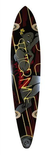 Sector 9 Longboards Goddess Deck - Red by Sector 9. $69.99. Sector 9 Longboards Goddess Deck - Red - 10.0 inches x 46.0 inches A little more serious giant slalom board pressed on the taco mold out of maple. Since its got more width it also has more concave which makes it more sensitive under your feet. Great for medium to higher speed carving and sliding.. Save 17%!