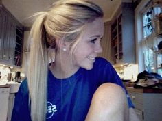 why do my ponytails never look this good?