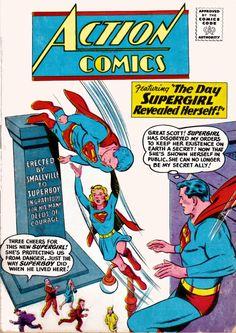 DC - Action Comics, Supergirl, No. 265