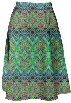 Boho Girl midi Skirt  by Marijke Verkerk Design. Feel Good Fashion & Living® www.marijkeverkerkdesign.nl