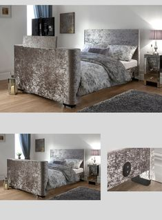 Top 15 of the Best TV Beds. This is the Gayle TV Bed in Crushed Velvet, can hold up to TV. Available in Double and King sizes. Read More. Tv Beds, Mattress In A Box, Crushed Velvet, Best Tv, King Size, Furniture, Home Decor, Interior Design, Home Interior Design