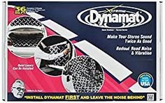 Dynamat 10455 x x Thick Self-Adhesive Sound Deadener with Xtreme Bulk Pack, (Set of Jeep Jk, Soundproofing Material, Soundproofing Walls, Music Studio Room, Recording Studio Home, Car Sounds, Luxury Cabin, Insulation Materials, Thermal Insulation