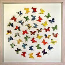 could have each child make own butterfly and then attach it to saying or just do a butterfly pic like this
